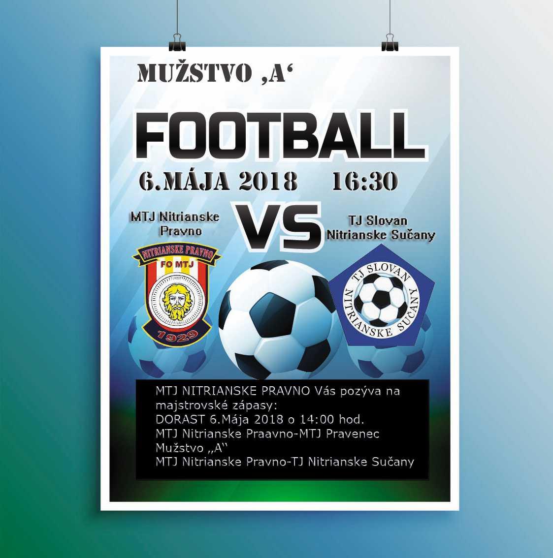 9837d741e2bc8 Futbalový zápas MTJ Nitrianske Pravno - TJ Slovan Nitr.Sučany